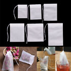 100Pcs Non-woven Empty Teabags String Heat Seal Filter Paper Herb Tea Bags JR