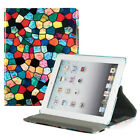 For Apple iPad 2 / 3 / 4th Gen with Retina Display 360 Rotating Case Cover Stand