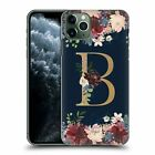 OFFICIAL NATURE MAGICK FLORAL MONOGRAM GOLD NAVY CASE FOR APPLE iPHONE PHONES