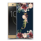 OFFICIAL NATURE MAGICK FLORAL MONOGRAM GOLD NAVY SOFT GEL CASE FOR SONY PHONES 1