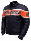 Leather Jacket For Men Harley Davidson  victoria lane black motorcycle biker top