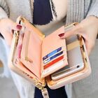 US Women Girl Leather Wallet Purse Long Handbag Clutch Box Bag Phone Card Holder