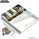 Wilkinson WTB Vintage Telecaster Guitar Bridge w/ Compensated Brass Saddles Tele