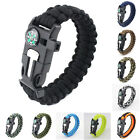 Paracord Survival Bracelet For Outdoor Hiking Camping Hunting Traveling Rope Kit