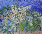 Vincent van Gogh  Blossoming Chestnut Branches  Hand Painted Canvas Oil Painting