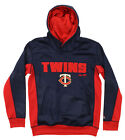 Majestic MLB Youth Minnesota Twins Geo Strike Hoodie on Ebay