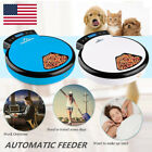 Automatic Pet Feeder 5 Meal Timer Food Dispenser Bowl Dish for Dogs Cats Animal
