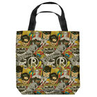 DC Comics Vitage Artwork Justice League Tote Bag Many Sizes