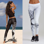 Women  Yoga Pants Fitness Leggings Run Gym Exercise Sports Trousers