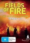 FIELDS OF FIRE - SERIES 1-3 COLLECTION  (6 DVD SET) BRAND NEW!!! SEALED!!!