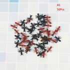 50/100/200Pcs plastic realistic ants Halloween pranks joking toys decorationSTDE