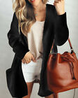 Womens Ladies Baggy Cardigan Coat Tops Chunky Knitted Oversized Sweater Jumper <br/> 30 Days Free Return/Buy 1, get 1 at 15% off