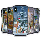 OFFICIAL CHRISTMAS MIX WINTER WONDERLAND HYBRID CASE FOR APPLE iPHONES PHONES