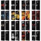 OFFICIAL AC/DC ACDC LOGO LEATHER BOOK WALLET CASE COVER FOR MOTOROLA PHONES