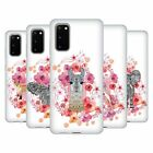 OFFICIAL MONIKA STRIGEL ANIMALS AND FLOWERS SOFT GEL CASE FOR SAMSUNG PHONES 1