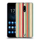 HEAD CASE DESIGNS COLOURED STREAKS SOFT GEL CASE FOR NOKIA PHONES 1