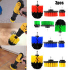 3pcs Drill Brush for Cleaning Car Carpet Wall Carpet Tile Home bathroom Clean