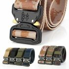 Mens Military Belt Buckle Combat Waistband Tactical Rescue Tool Adjustable