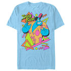 Aladdin Retro 90's Genie Mens Graphic T Shirt image