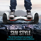 GYROOR Warrior Off Road Hoverboard All Terrain Self Balancing Hoverboard White