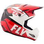 Fly Racing Elite Guild Helmet - Red / White / Black - Choose Size