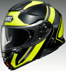 Shoei Adult Yellow/Black Neotec II Excursion Modular Flip Up Motorcycle Helmet