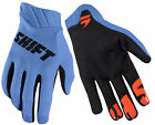 Shift Racing Blue/Black Black Label Air Mainline Dirt Bike Gloves MX ATV BMX MTB