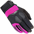 Cortech Womens Black/Pink DXR Textile Motorcycle Gloves