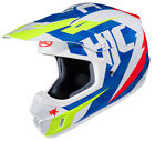 HJC White/Blue/Red CS-MX II Dakota Dirt Bike Helmet DOT MX ATV Motocross