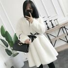 Fashion 100% REAL MINK FUR COAT Chic Womens Winter Warm Outwear Clothes Parka