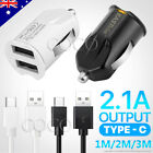 Rapid Charge USB Car Charger Type-C Cable for Samsung S10 S20 S9 Plus Note 10 5G