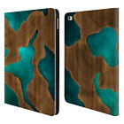OFFICIAL ALYN SPILLER WOOD & RESIN LEATHER BOOK WALLET CASE COVER FOR APPLE iPAD