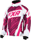 FXR Womens Fuchsia Snowmobile Helix Jacket Snocross
