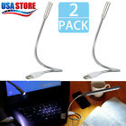 8 LED Flexible USB Night Read Light Lamp for Computer Keyboard Laptop Notebook