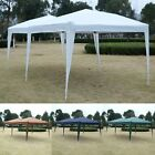10'X20' Folding Gazebo Wedding Party Tent Canopy Carry Bag Cross-Bar 4colors US
