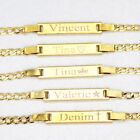 14K Gold Filled Baby Id Bracelet, Personalized New born to 12 years baby gift.