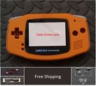 GBA Game Boy Advance Replacement Housing Shell GLASS Screen  USA! Pick Color