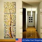 3Pcs Modern Abstract Life Tree Oil Canvas Print Painting Art Picture Wall Decor