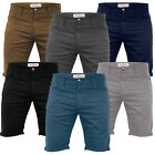 Mens Chino Shorts Stallion Cotton Stretch Jeans Half Pants Casual Cargo New All