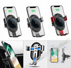 Qi Wireless Charger Car Air Outlet Declare Holder Mount for iPhone X Samsung Galaxy