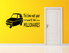 Only Fools And Horses Quote Xmas Gift Bedroom Wall Art Vinyl Decal Sticker V288