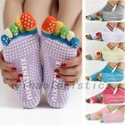 Women Five Toes Yoga Sock Pilates Fitness Gym Exercise Non-S