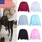 US Sto Women Long Sleeve Sweater Sweatshirter Pullover Fall Winter Top GIFT