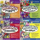 Mighty Math Series Edutainment Learning Games PC Windows Sealed New
