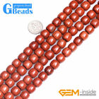 "Natural Red Jasper Gemstone Beads For Jewelry Making Strand 15"" Free Shipping"