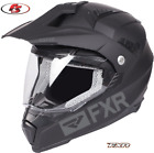 New 2019 FXR Octane X Recoil Snowmobile Helmet Electric Shield Black Ops XL