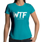WTF (Where's the Food?) Funny Acronym Womens Juniors Girls Crew Neck Tee T-Shirt