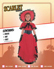 Victorian Gone With The Wind Scarlet OHara Girls Book Week Fancy Dress Costume