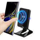 Qi Wireless Charger Holder Charging Pad Stand Dock For iPhone X Samsung Note 8/9