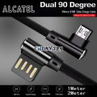 L SHAPE 90° Micro USB Data Sync Charging Charger Cable Acer Liquid E600 Z2